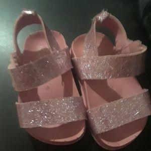 Size 4 infant girls sandals